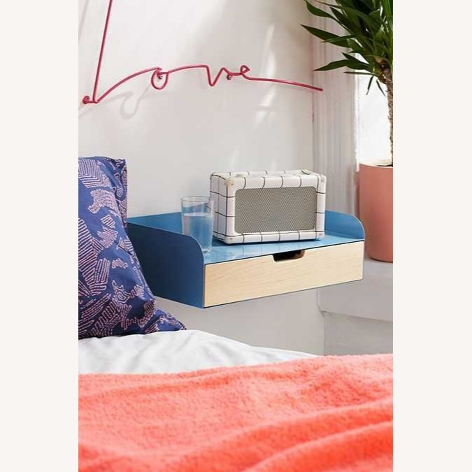 Urban Outfitters Jonah Floating Nightstand - Set of 2 - image-3