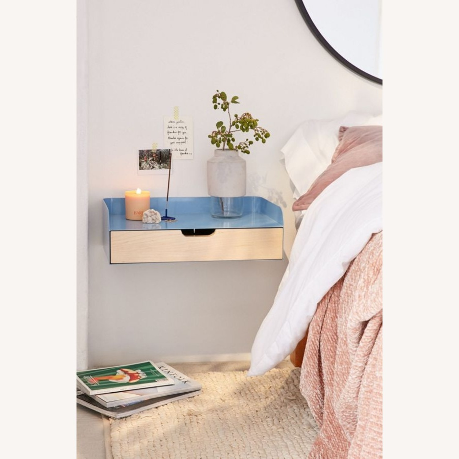 Urban Outfitters Jonah Floating Nightstand - Set of 2 - image-1