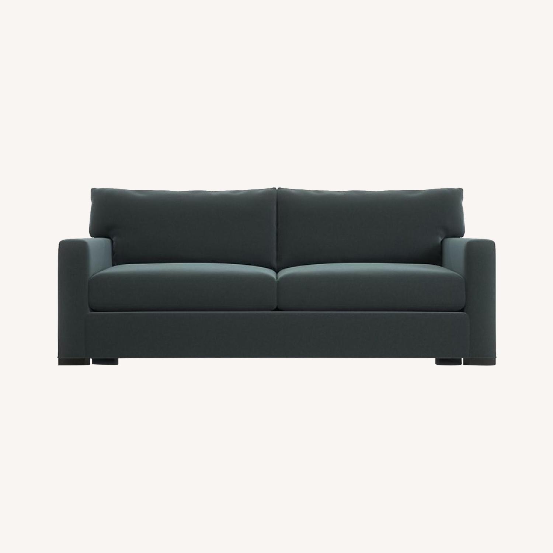 Crate & Barrel Axis II 2-Seat Sofa - image-0