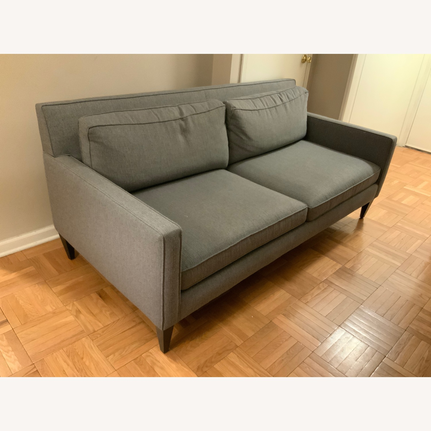 Crate & Barrel Rochelle Apartment Sofa - image-2