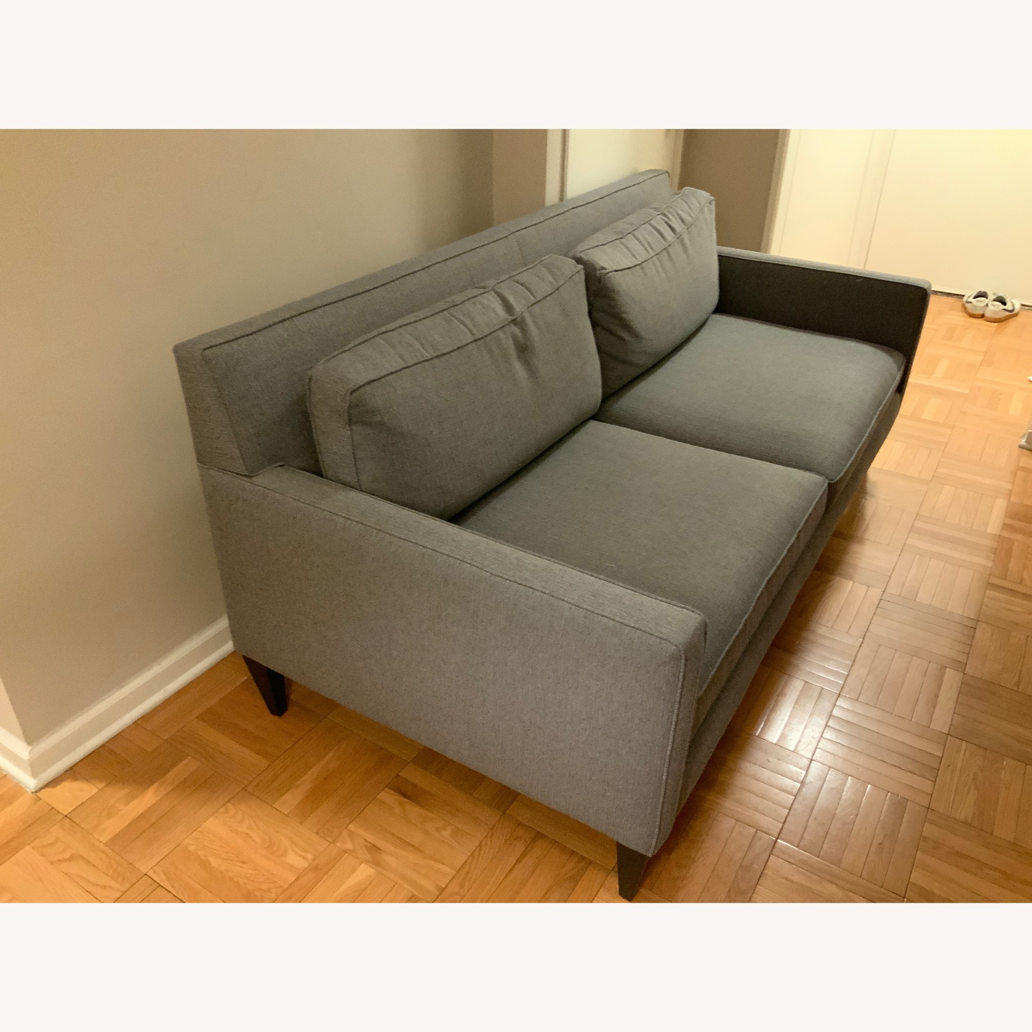 Crate & Barrel Rochelle Apartment Sofa - image-3