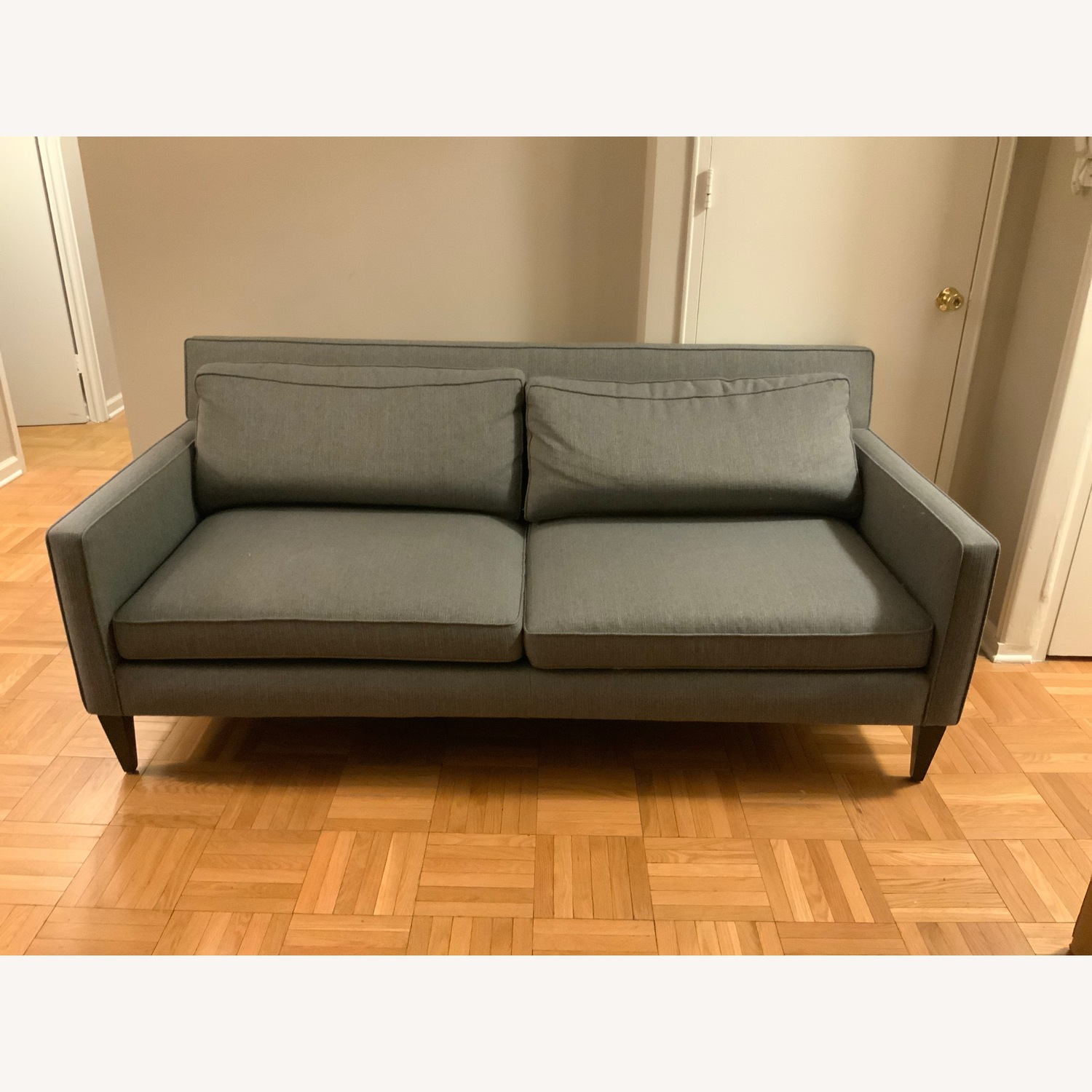 Crate & Barrel Rochelle Apartment Sofa - image-1