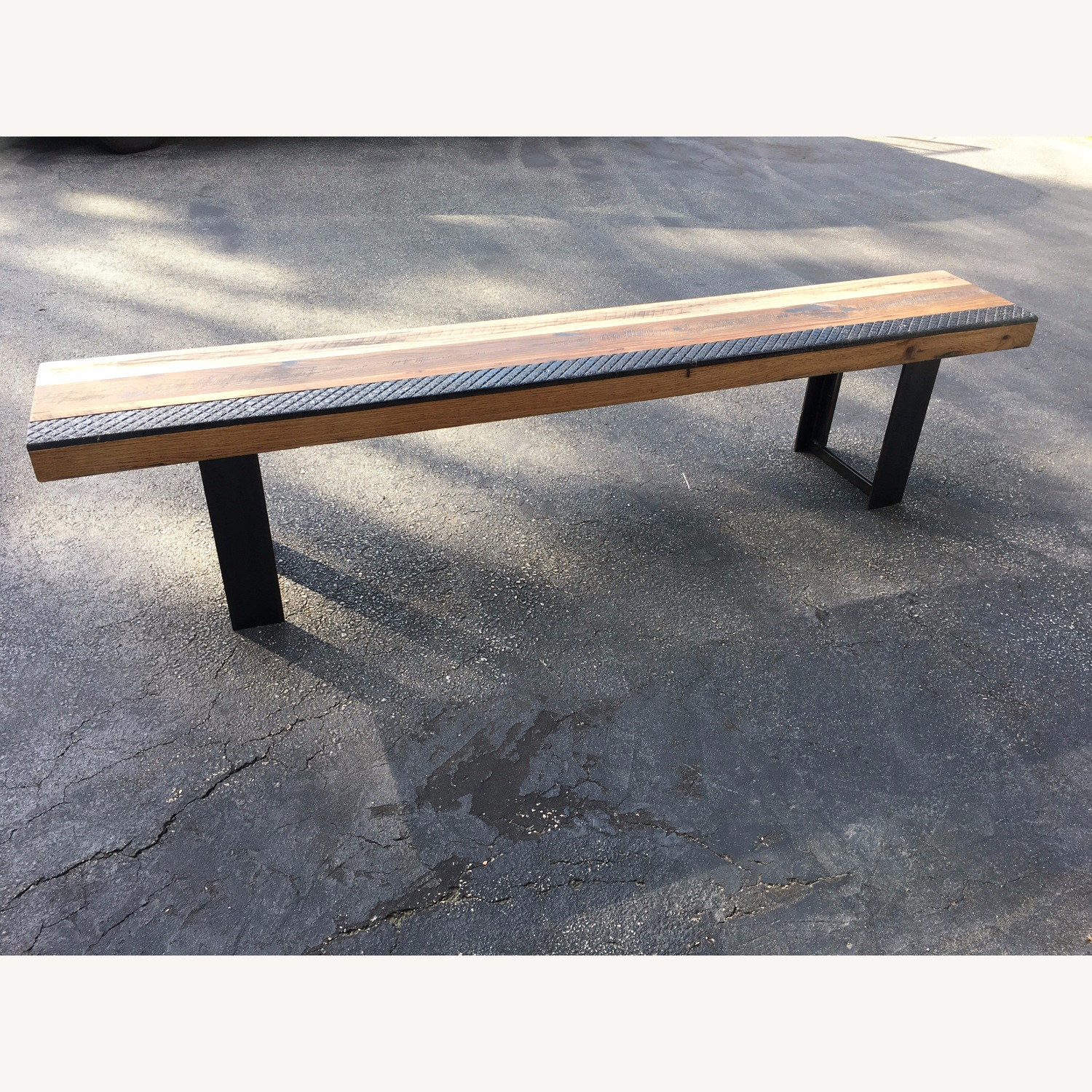 Taylor Made Rustic Reclaimed Wood Bench - image-2