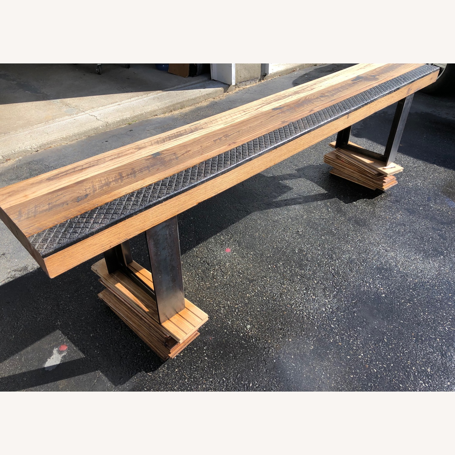 Taylor Made Rustic Reclaimed Wood Bench - image-6