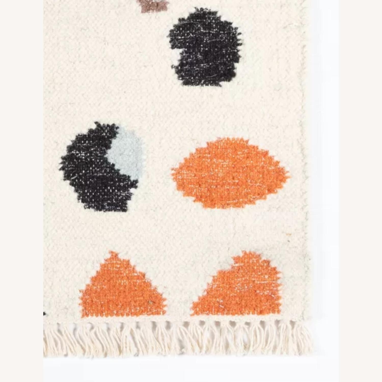 AllModern Terrazzo Pattern Wool Rug