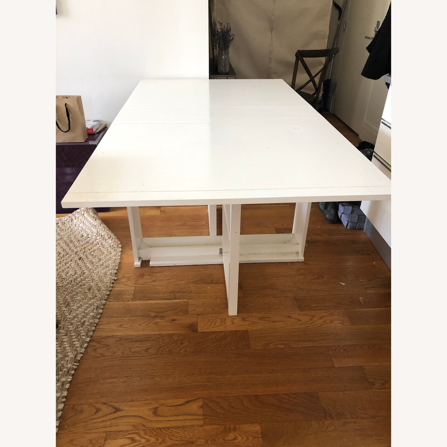 Crate & Barrel Foldable Dining Table - image-1