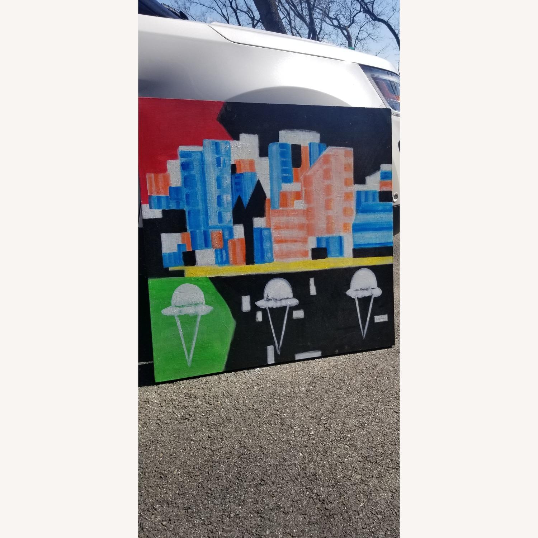 Cityscape with Ice cream Art - image-1
