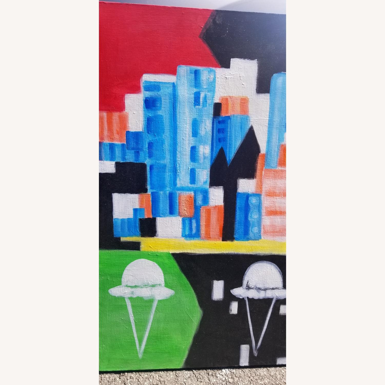 Cityscape with Ice cream Art - image-2