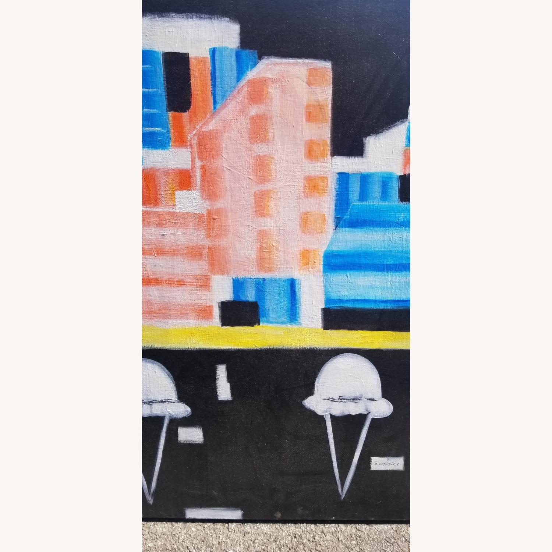 Cityscape with Ice cream Art - image-3