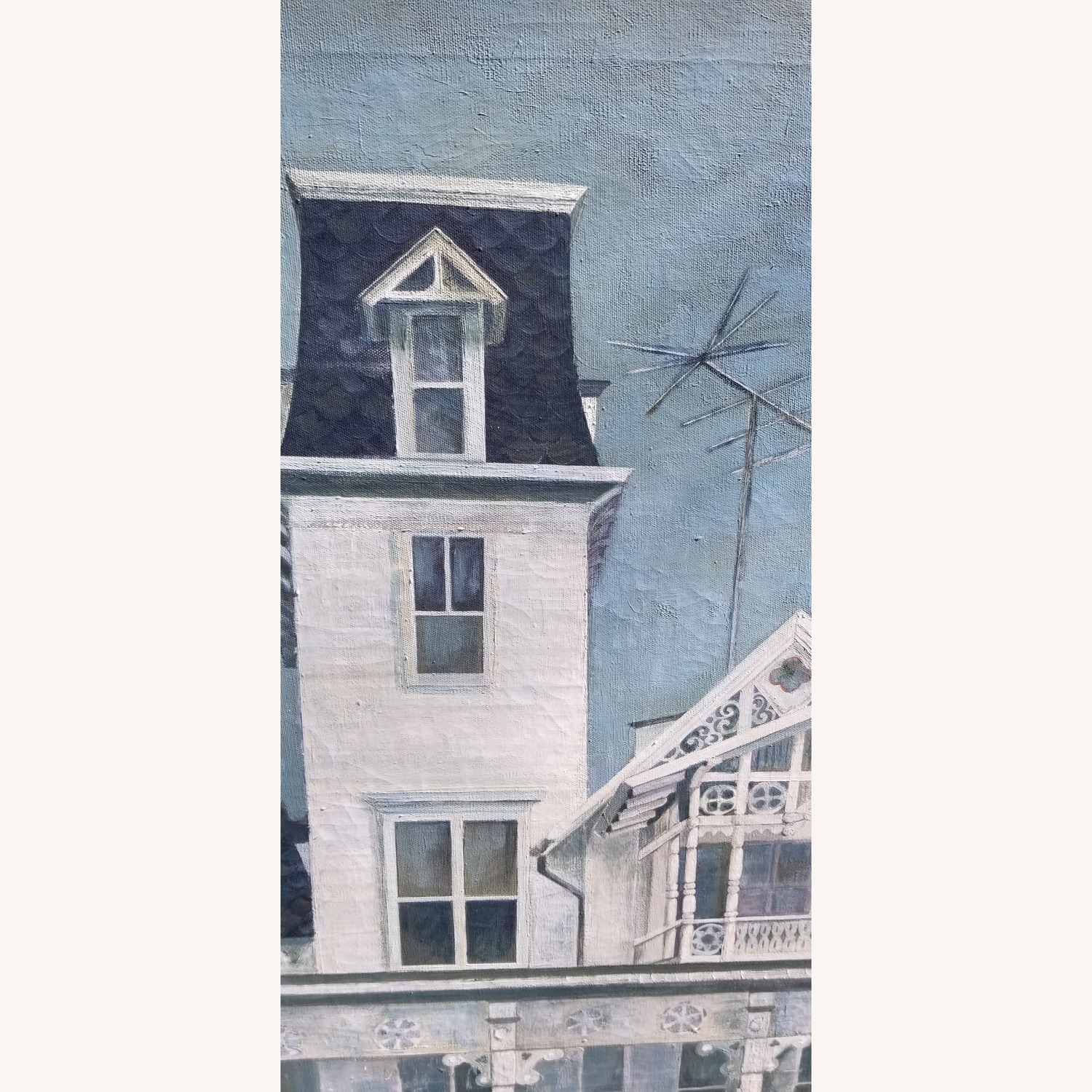 Oil on Canvas of Victorian House - image-2