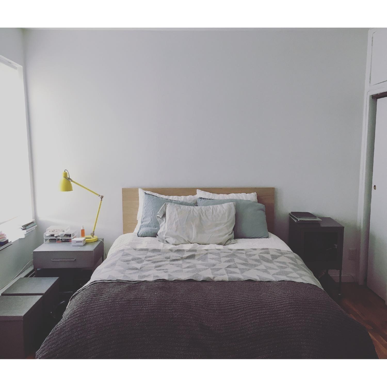 Ikea Malm Full Size Bed W Underbed Storage Aptdeco