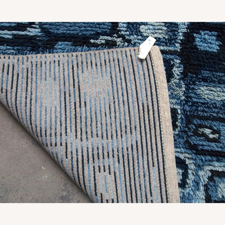 Handmade Vintage Swedish Rya Rug