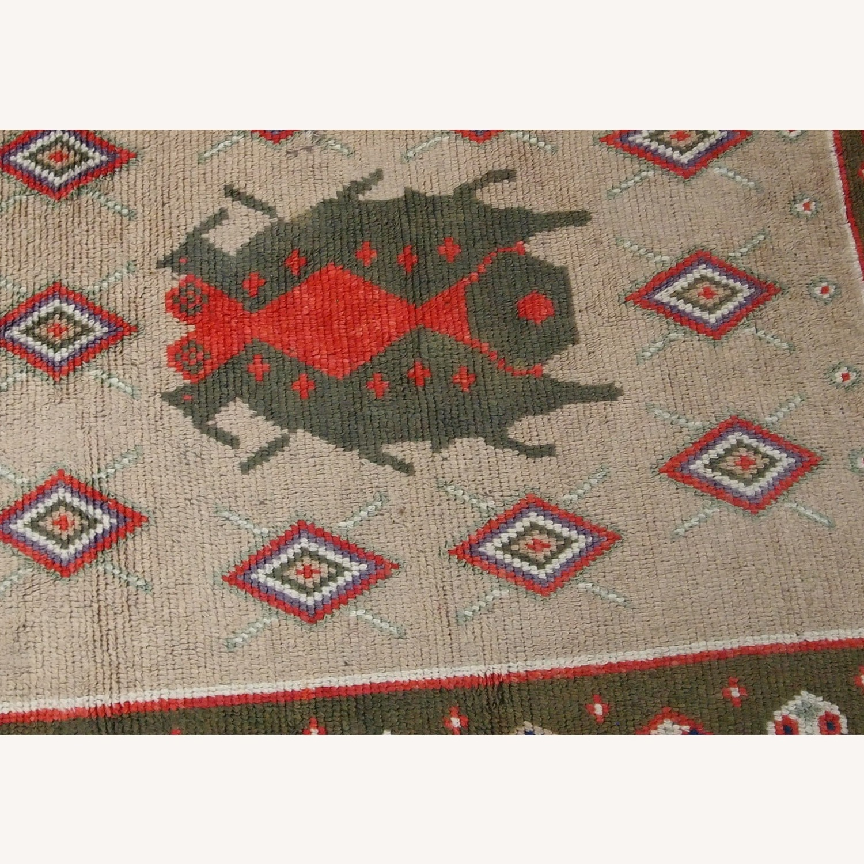 Handmade Vintage Scandinavian Pile Rug - image-2