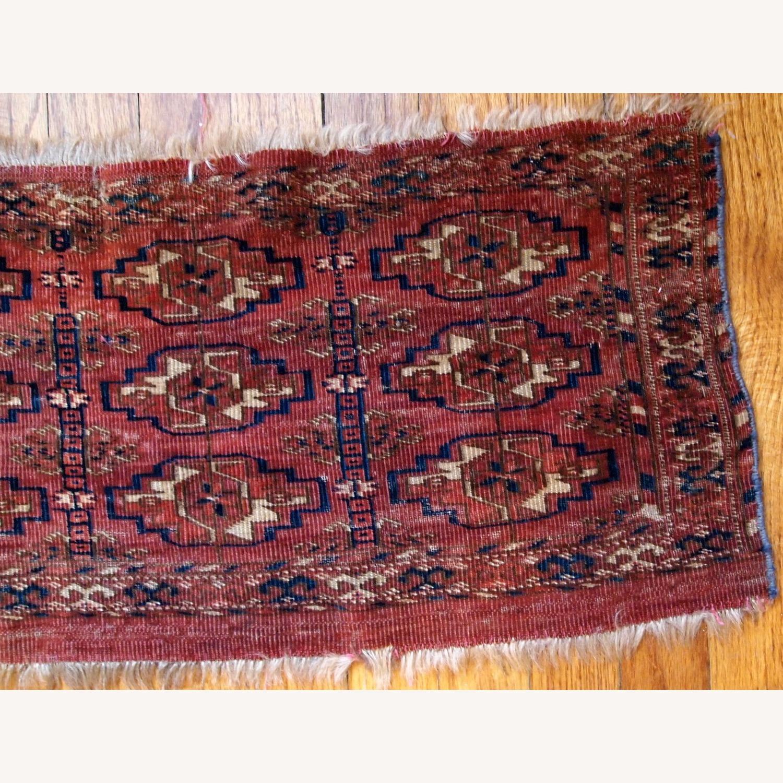 Handmade Antique Turkmen Tekke Torba Rug