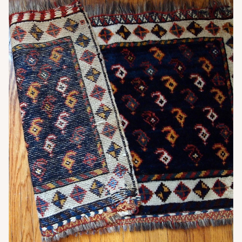 Handmade Antique Persian Collectible Luri Bagface - image-9