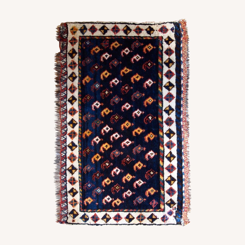 Handmade Antique Persian Collectible Luri Bagface - image-0