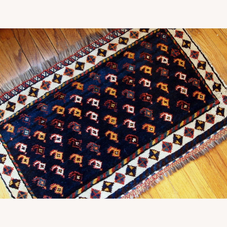 Handmade Antique Persian Collectible Luri Bagface - image-7