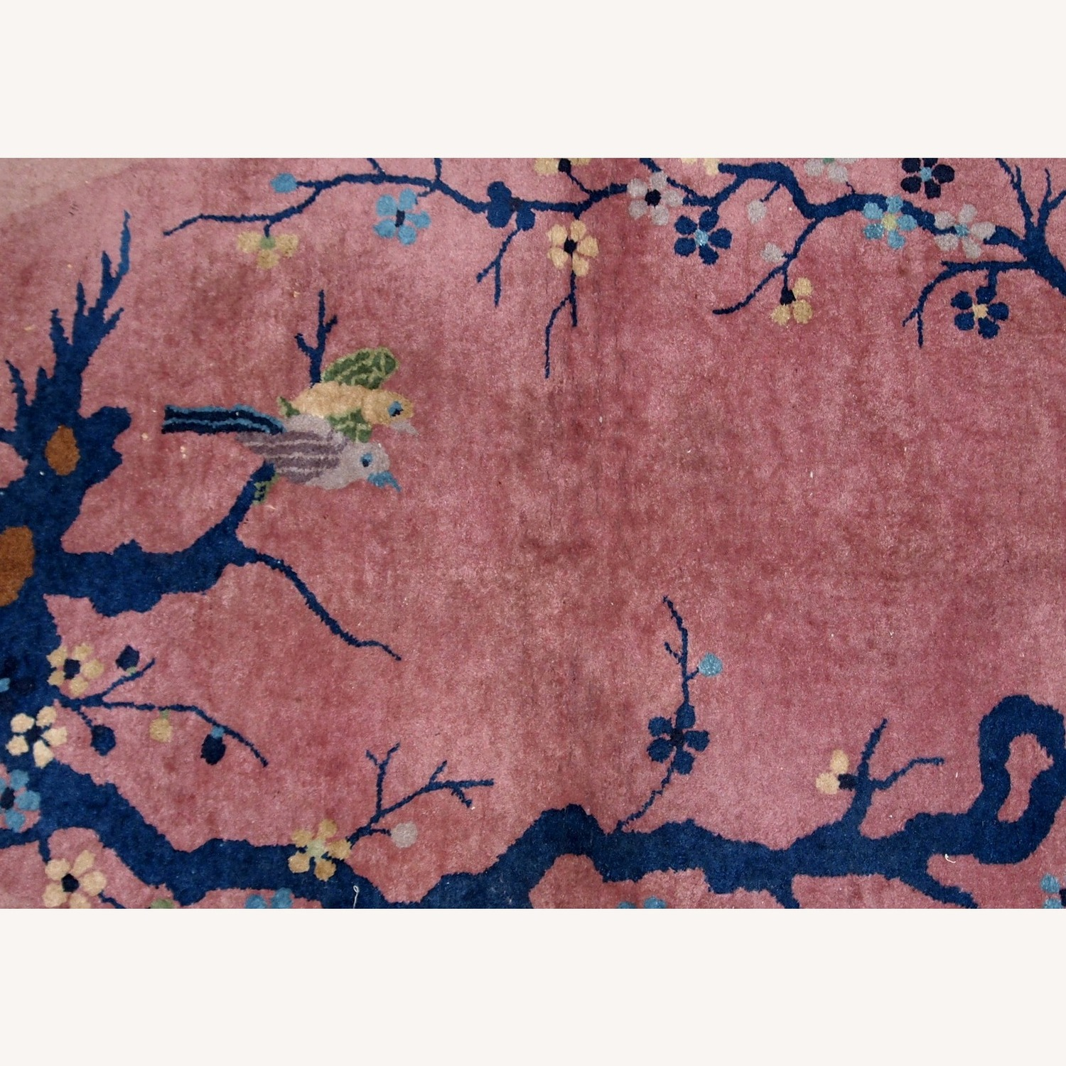 Handmade Antique Art Deco Chinese Rug