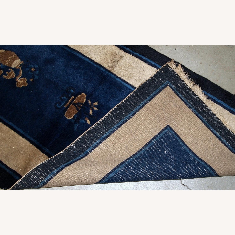 Handmade Antique Peking Chinese Rug - image-4
