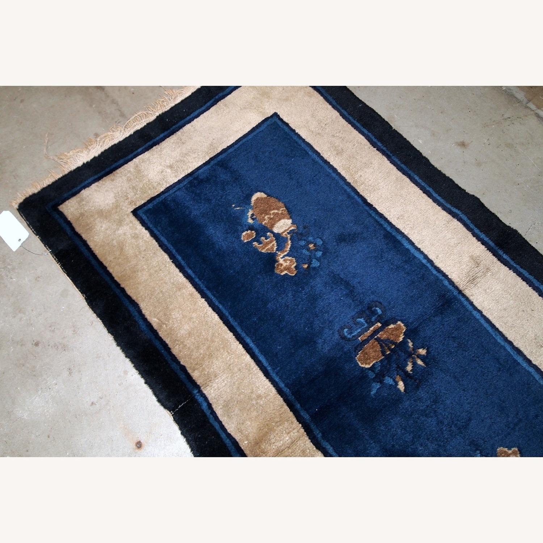 Handmade Antique Peking Chinese Rug - image-7