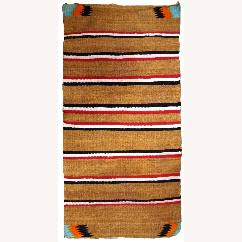 Handmade Native American Navajo Baby Blanket