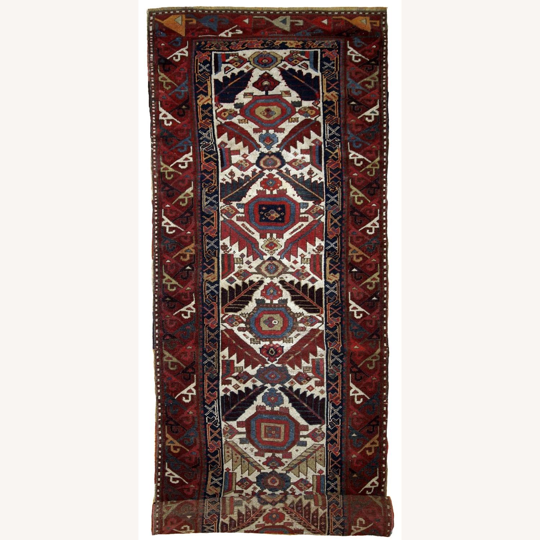 Handmade Antique Nothwest Persian Runner - image-1