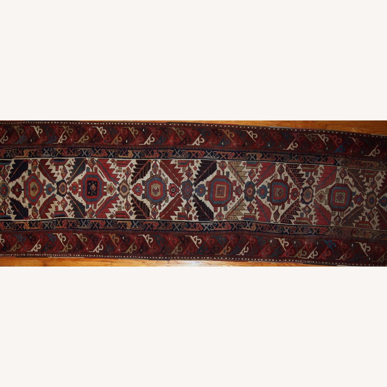Handmade Antique Nothwest Persian Runner - image-15
