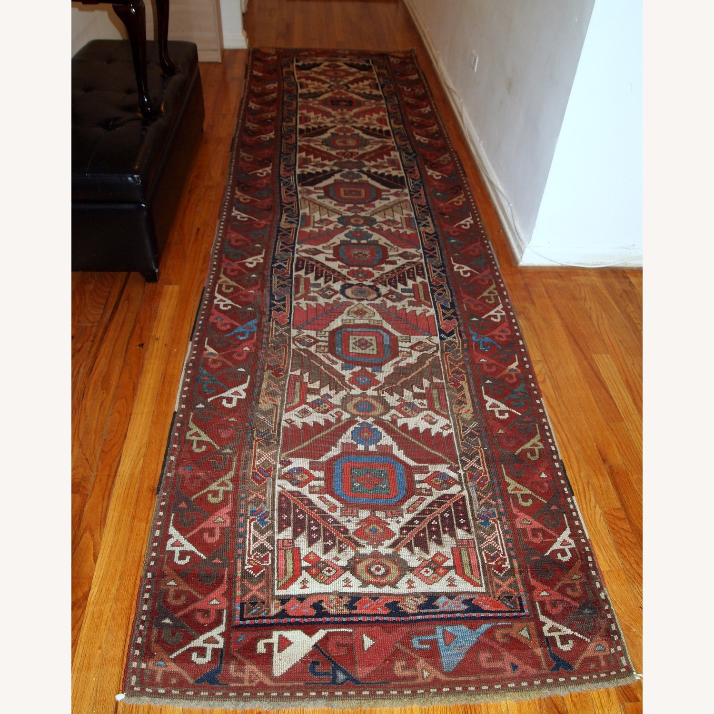 Handmade Antique Nothwest Persian Runner - image-14
