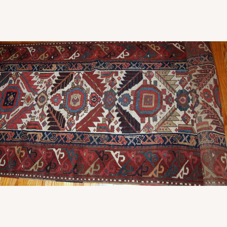 Handmade Antique Nothwest Persian Runner - image-6