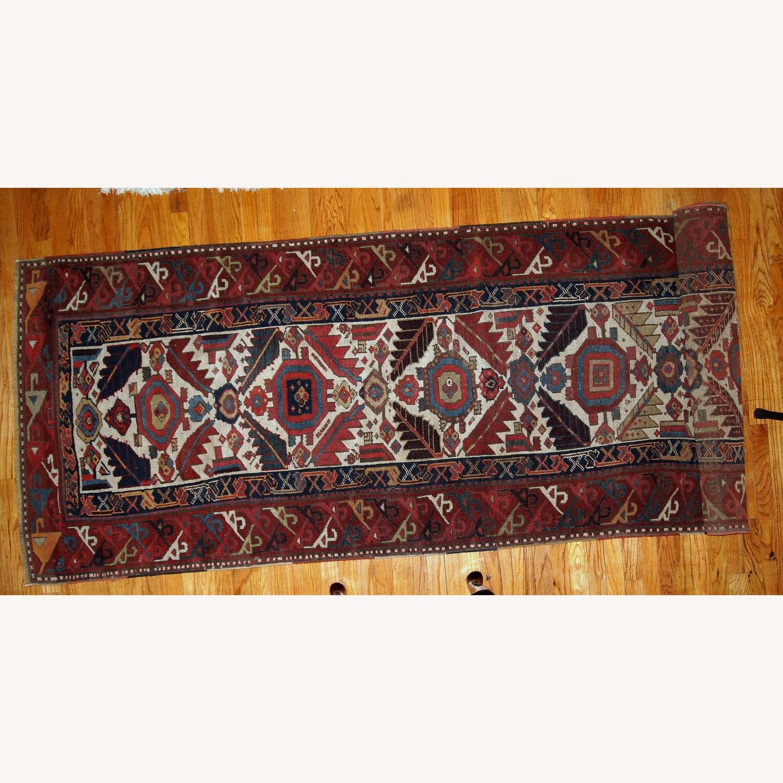 Handmade Antique Nothwest Persian Runner - image-16
