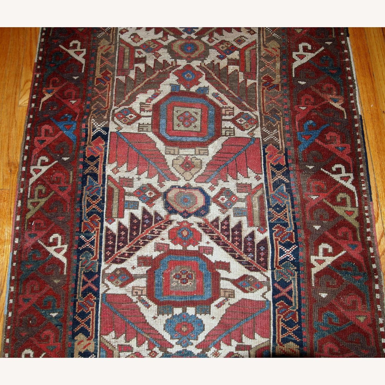 Handmade Antique Nothwest Persian Runner - image-9