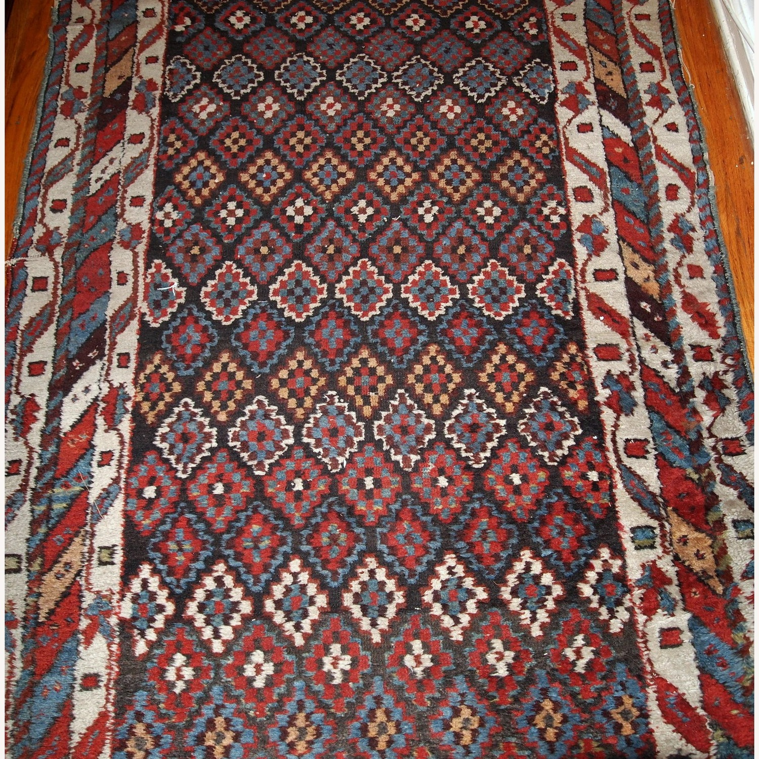 Handmade Antique Northwest Persian Rug - image-11