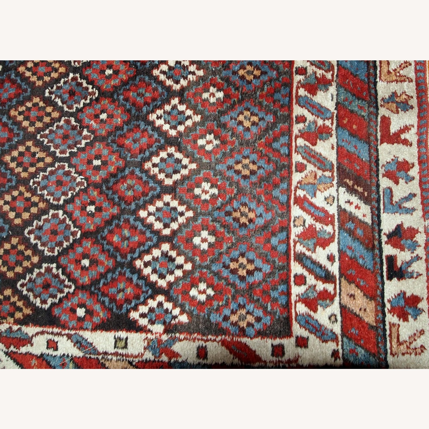 Handmade Antique Northwest Persian Rug - image-9