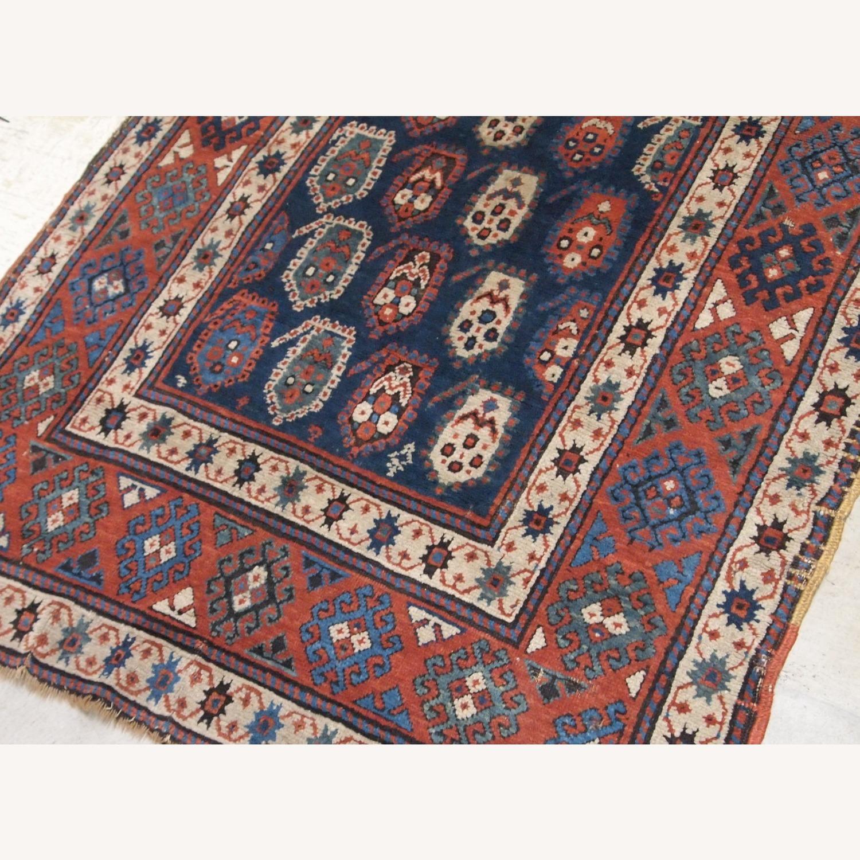 Handmade Antique Caucasian Kazak Rug - image-5