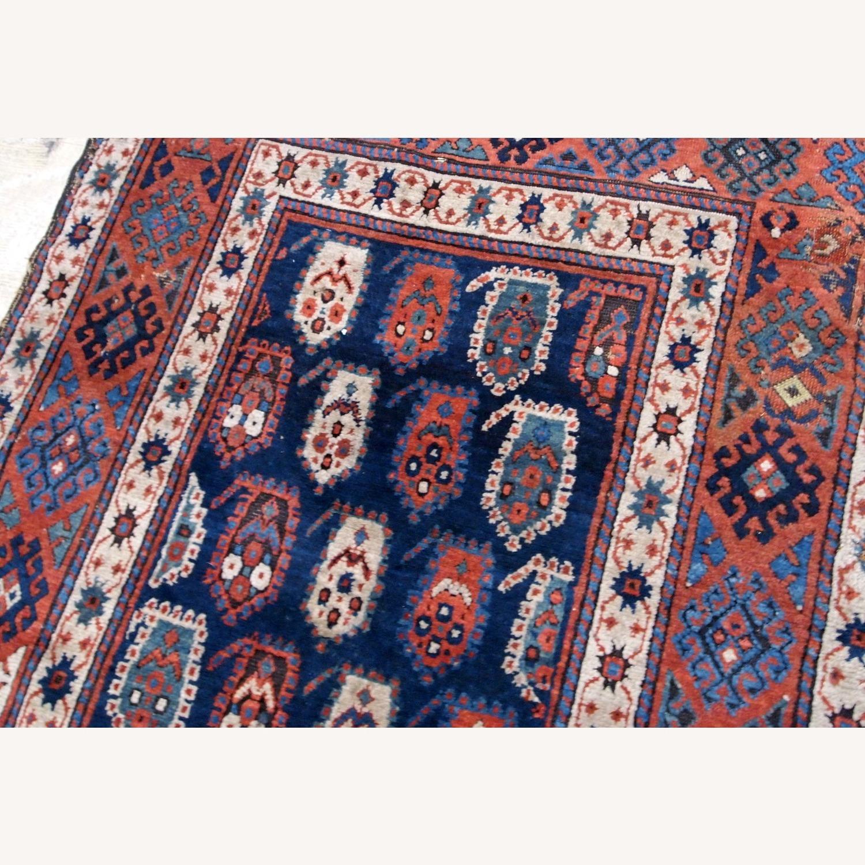 Handmade Antique Caucasian Kazak Rug - image-4