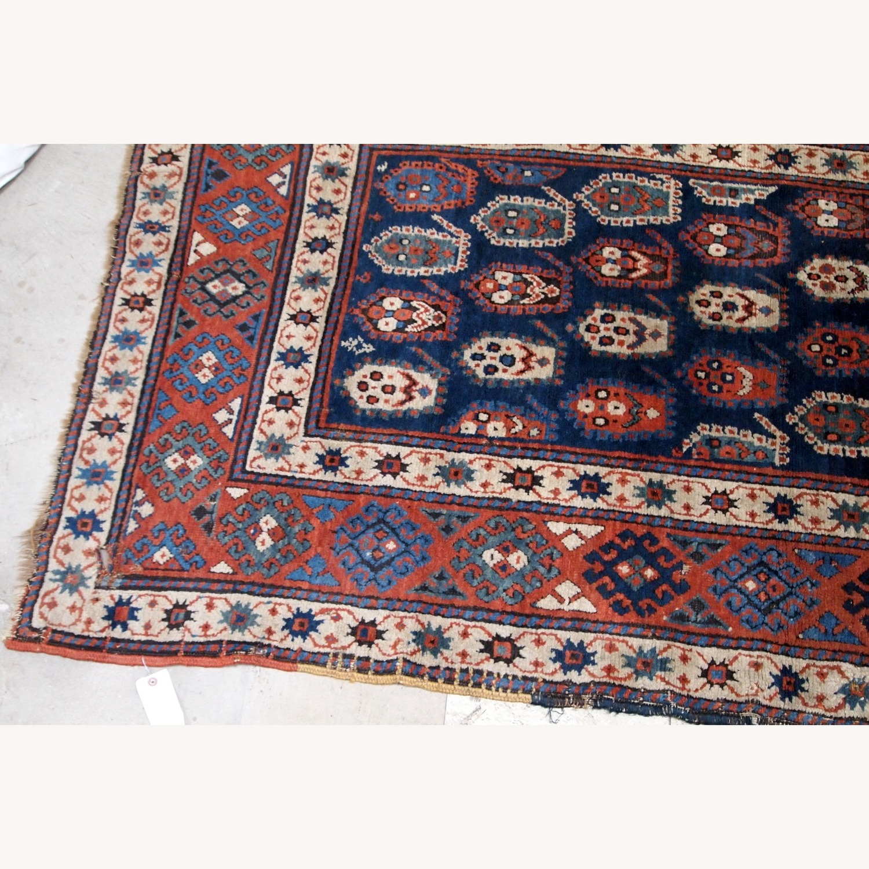Handmade Antique Caucasian Kazak Rug - image-3