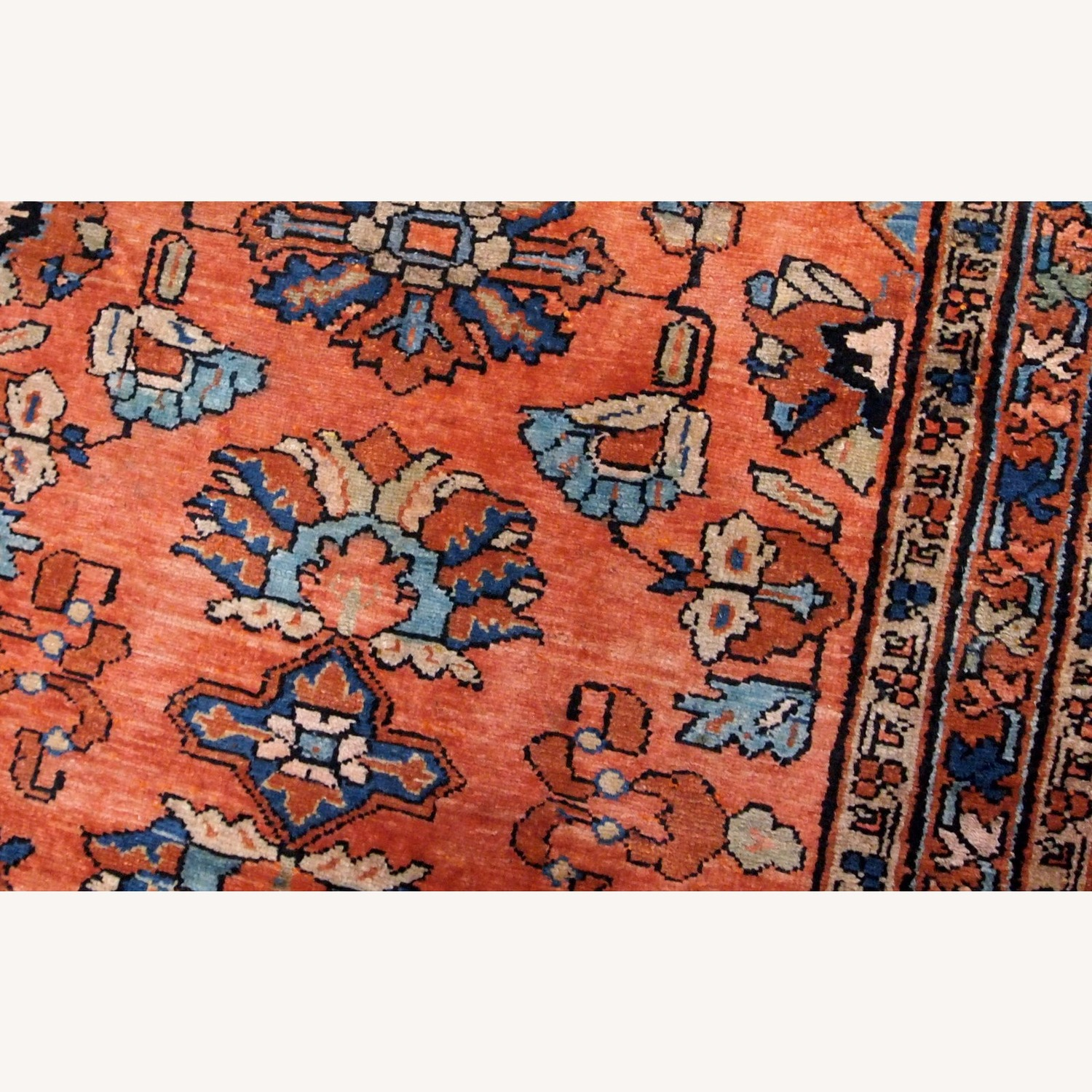 Handmade Antique Persian Lilihan Rug - image-3