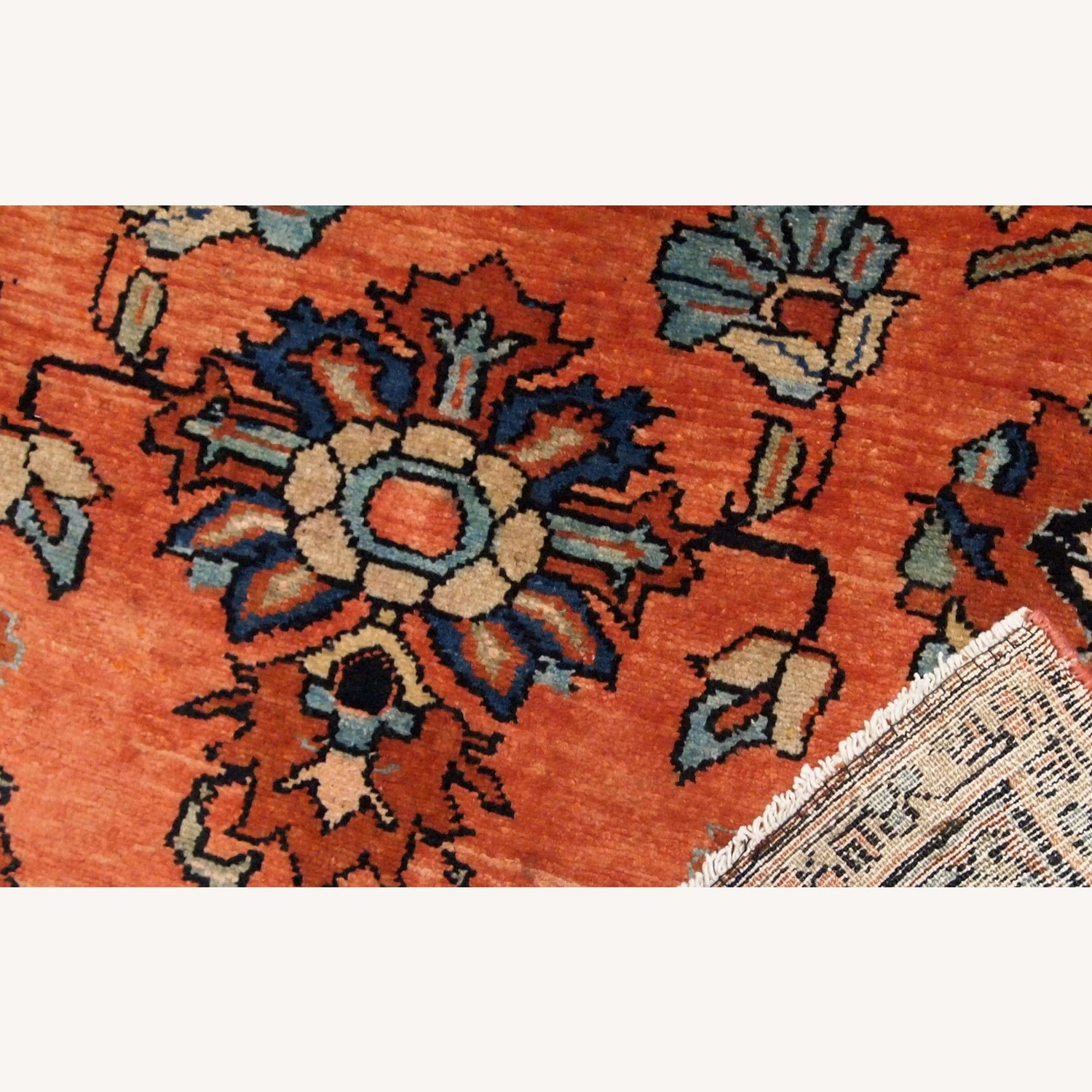 Handmade Antique Persian Lilihan Rug - image-2