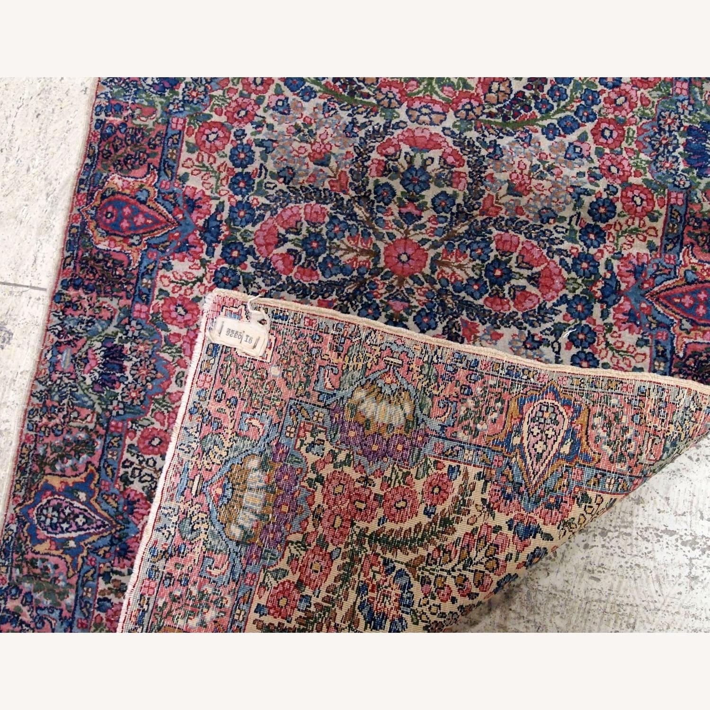 Handmade Antique Persian Kerman Rug - image-6