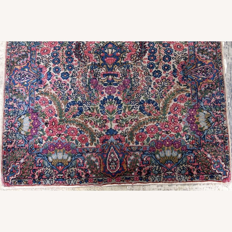 Handmade Antique Persian Kerman Rug - image-2