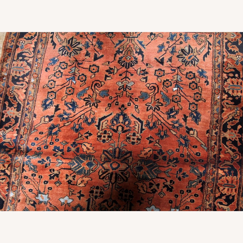 Handmade Antique Persian Sarouk Rug - image-6