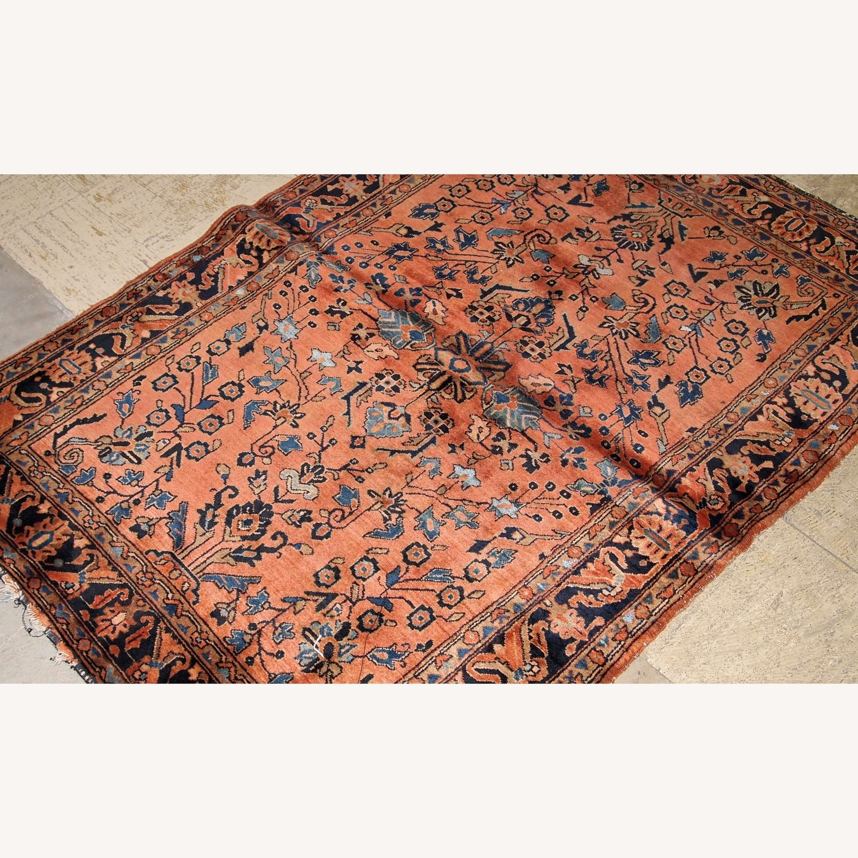 Handmade Antique Persian Sarouk Rug - image-2