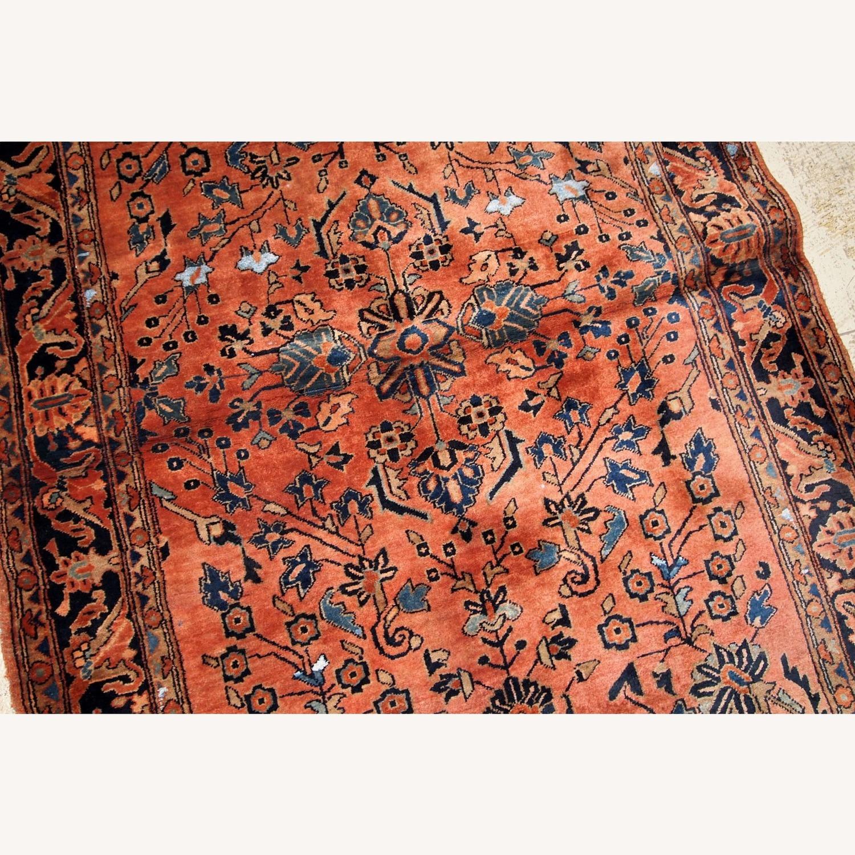 Handmade Antique Persian Sarouk Rug - image-3