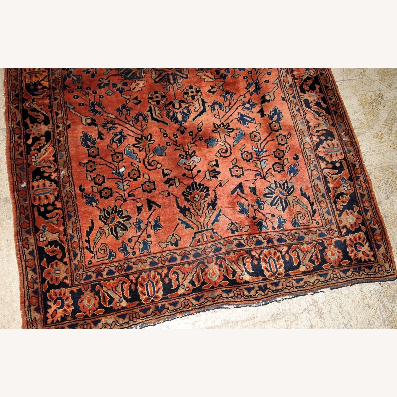 Handmade Antique Persian Sarouk Rug - image-4