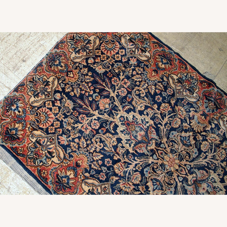 Handmade Antique Persian Kerman Rug