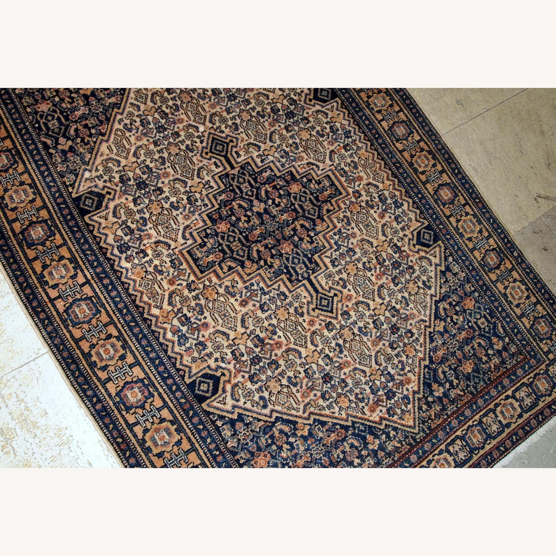 Handmade Antique Persian Bibikabab Rug