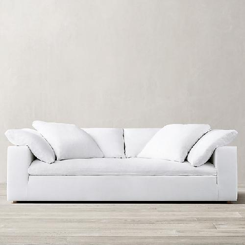 Used Restoration Hardware White Cloud Couch for sale on AptDeco