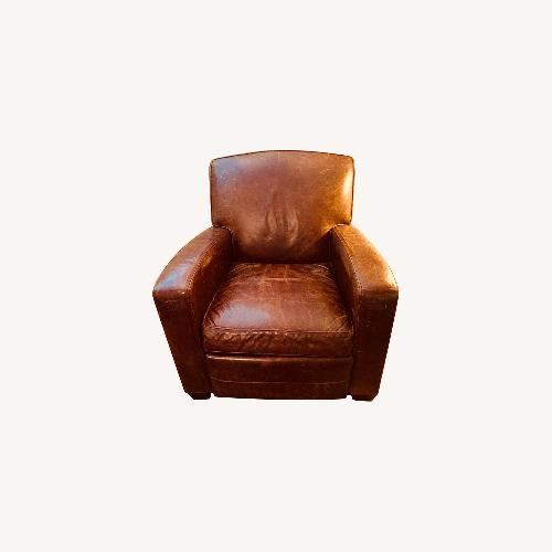 Used Mitchell Gold + Bob Williams Leather Recliner for sale on AptDeco