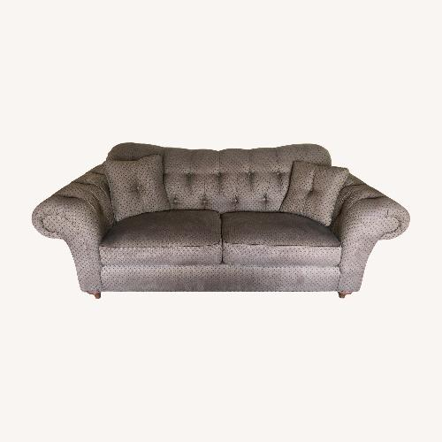 Used Ethan Allen Tufted Rolled Arm Sofa for sale on AptDeco
