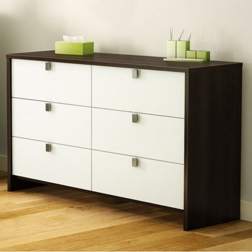 Used South Shore Espresso 6 Drawer Dresser for sale on AptDeco